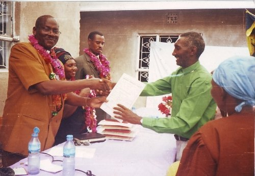 Pastors Graduation